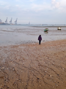 Harwich low tide stroll