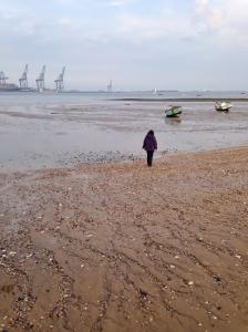 Harwich low tide stroll
