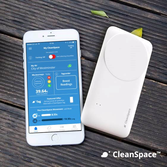 CleanSpace App - Source: http://lcc.org.uk/articles/get-a-cleanspace-tag-and-help-build-a-street-by-street-air-pollution-map-of-london